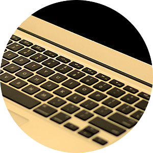 Rond Laptop